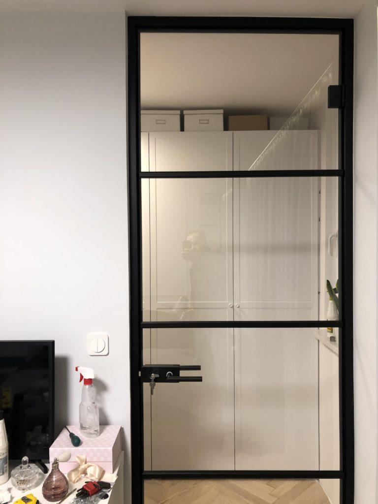szklane drzwi warszawa szprosy